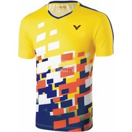 Victor Victor shirt Malaysia Unisex Yellow 6428
