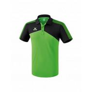 Erima Erima Premium one 2.0 polo Groen/Zwart