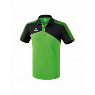 Erima Sportkleding Erima Premium one 2.0 polo Groen/Zwart