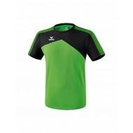 Erima Sportkleding Erima Premium one 2.0 T-shirt Groen/Zwart