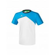 Erima Sportkleding Erima Premium one 2.0 T-shirt Blauw/Wit