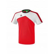 Erima Erima Premium one 2.0 T-shirt Rood/Wit