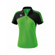 Erima Sportkleding Erima Premium one 2.0 Polo Ladies Green/Black