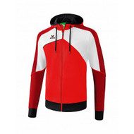 Erima Sportkleding Erima One 2.0 Training jacket with hood Men Red/White
