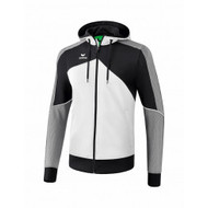 Erima Sportkleding Erima One 2.0 Training jacket with hood Men Grey/Black/White