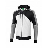 Erima Sportkleding Erima One 2.0 Trainingsjack met capuchon Heren Grijs/Zwart/Wit