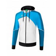 Erima Sportkleding Erima One 2.0 Trainingsjacke mit Kapuze Herren Blau/Weiss