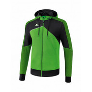 Erima Sportkleding Erima One 2.0 Training jacket with hood Men Green/Black