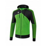 Erima Sportkleding Erima One 2.0 Trainingsjack met capuchon Heren Groen/Zwart