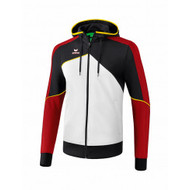 Erima Sportkleding Erima One 2.0 Training jacket with hood Men Red/Black/White