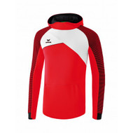 Erima Sportkleding Erima Premium One 2.0 sweatshirt with hoody Red/White