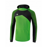 Erima Sportkleding Erima Premium One 2.0 sweatshirt with hoody Green/Black