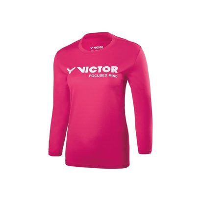 Victor Victor T-76103Q Pink shirt long sleeves