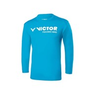 Victor Victor T-75103 M Blue shirt long sleeves