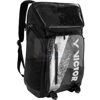 Victor Victor Backpack BR 9008 Black/Silver
