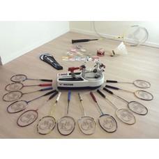 Badminton besaitung service