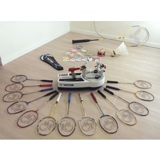 Badminton stringing service