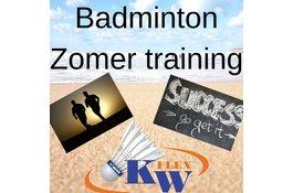 Badminton conditie onderhouden
