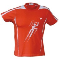 Victor Victor T-Shirt badminton red 09