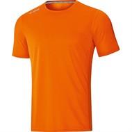 JAKO JAKO t-shirt run 2.0 Fluo Oranje