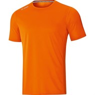 JAKO JAKO t-shirt run 2.0 Fluo Orange Damen
