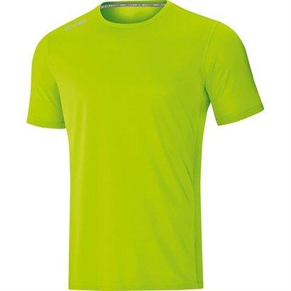 JAKO JAKO t-shirt run 2.0 Fluo Groen Dames