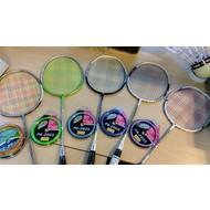 KW FLEX Regenboog badminton bespanning