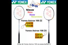 Yonex Astrox 100 ZZ & Yonex Astrox 100 ZX