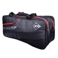 Dunlop Dunlop Elite Tournament 2 vaks badminton tas Zwart