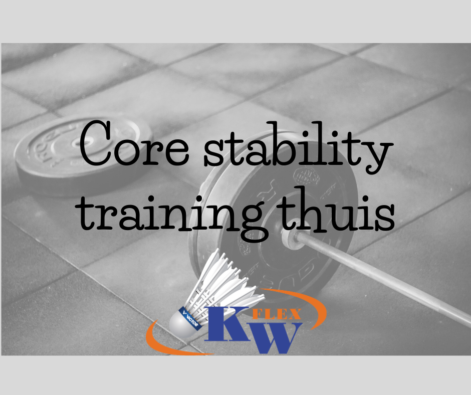 Core stability training thuis