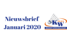KW FLEX Nieuwsbrief januari 2020: Healthy January 2020
