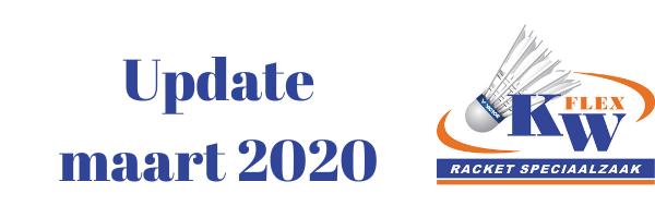 KW FLEX Nieuwsbrief Maart 2020 Update: GRATIS VERZENDING*