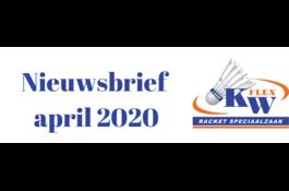 KW FLEX Nieuwsbrief April 2020: Even voorstellen & Nieuwe Victor collectie