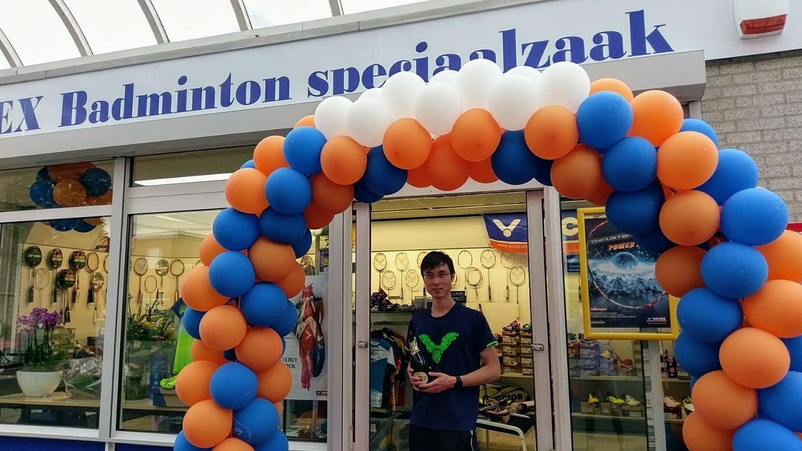 KW FLEX badminton winkel met kwok-wai