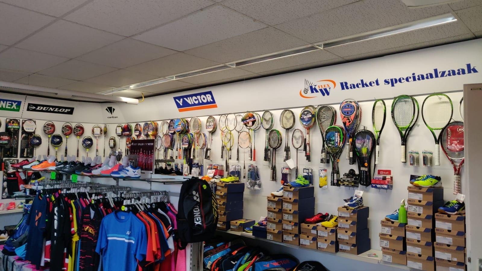 KW FLEX badminton winkel binnen