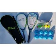 KW FLEX Crivit Speedminton set blauw/groen