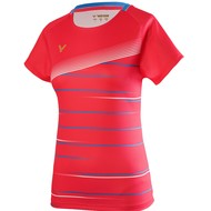Victor Victor T-Shirt Female T-01003 D Red