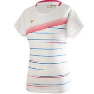 Victor Victor T-Shirt Female T-01003 A White