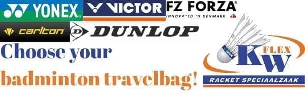 Wählen Sie hier Ihre Badminton-Reisetasche!