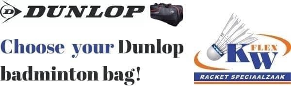 Buy your Dunlop badminton racketbag here!
