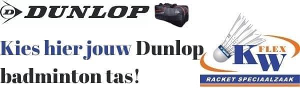 Dunlop badminton tas