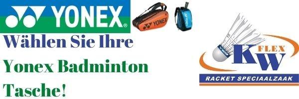 yonex 1 fach badmintontasche