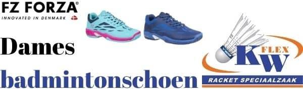 FZ Forza dames badminton schoenen kopen!