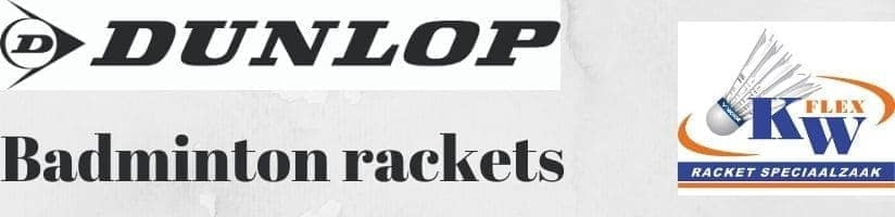 Dunlop badminton rackets online kopen