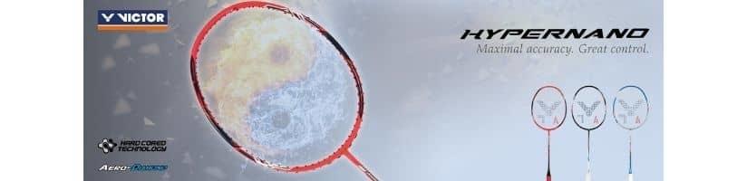 Victor Hypernano badminton rackets