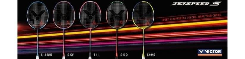Victor Jetspeed badminton rackets