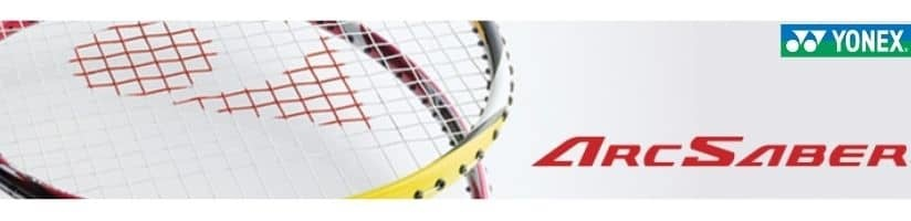 Yonex Arcsaber badminton rackets