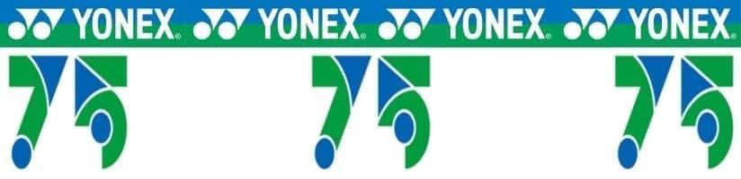 Yonex 75th anniversary