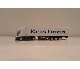 Vrachtwagen  met naam