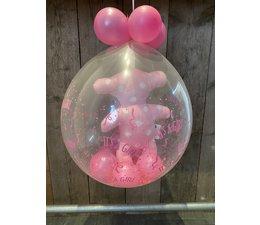 Ballon gevuld (geboort meisje)